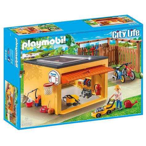 Playmobil Kinderzimmer Junge 6556 by Playmobil 9368 Garage Mit Fahrradstellplatz Exklusivset