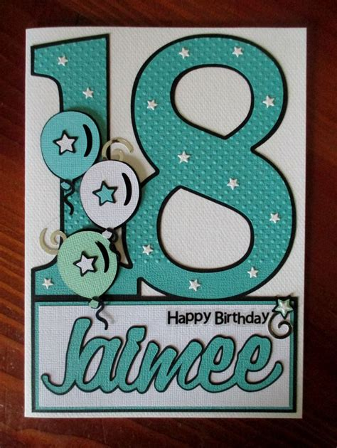 18th Birthday Card Designs 25 Best Ideas About 18th Birthday Cards On Pinterest