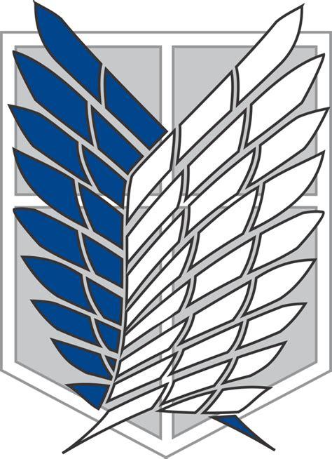 Attack On Titan Shingeki No Kyojin Corps Survey Jaket Hoodie Anime attack on recon corps logo by vr 7 on deviantart