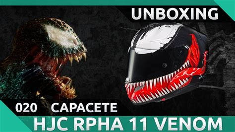 Hjc Rpha11 Venom Limited Edition unboxing capacete hjc rpha 11 venom limited edition