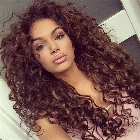 getting hair curled and color 25 best ideas about brown curly hair on pinterest ombre
