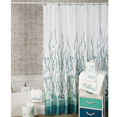 shower curtain beach theme sea themed shower curtains soozone