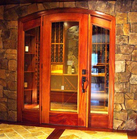 custom wine cellar door entry  cellarmaker wine