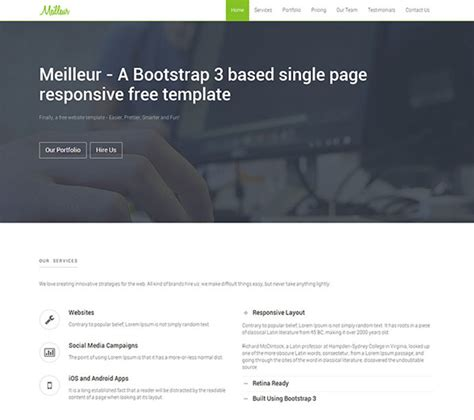 tutorial web design with bootstrap 10 template bootstrap gratis dan responsive tutorial web