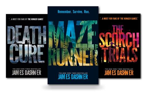 runner s runner s series books maze runner series 3 books set collection dashner