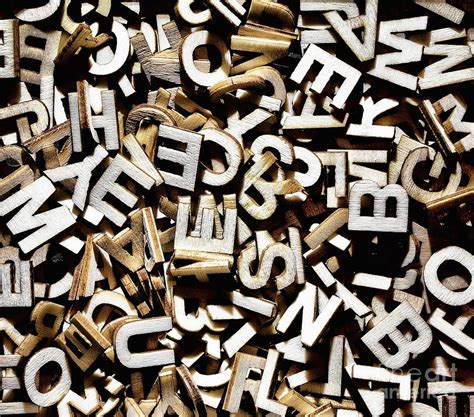 5 Letter Jumbled Words jumbled letters photograph by simon bratt photography lrps