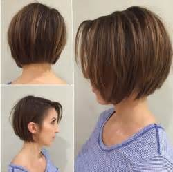 curly blunt cut hair cuts back view 15 fabulous short layered hairstyles for girls and women