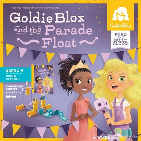 goldie blox and the best friend fail goldieblox a stepping book tm books goldieblox and the parade float