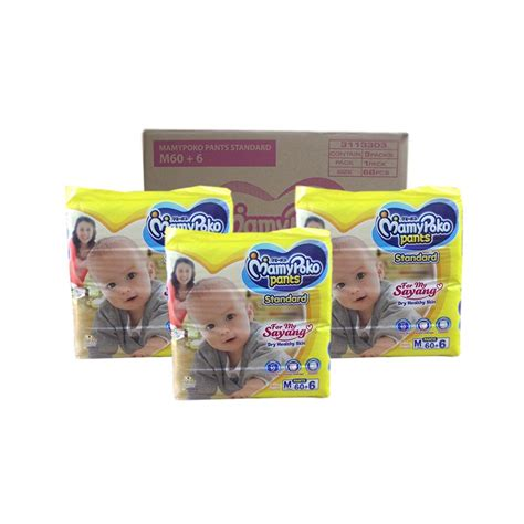 Mamypoko New M 32 T2909 mamypoko standard m60 3 packs new packaging diapers