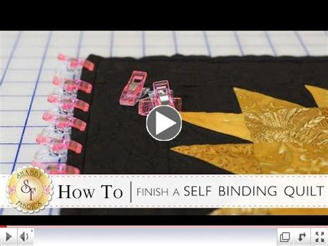 How To Finish Quilt Binding by New Block Of The Month Forever