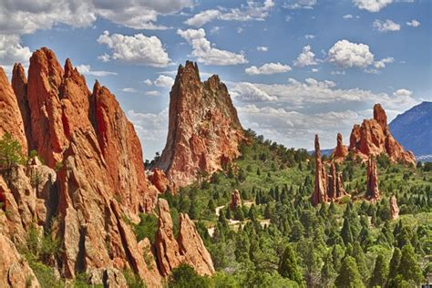 Top 10 Staggering National Parks In The Usa Places To Garden Of The Gods Rock Formations
