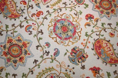 jacobean upholstery fabric jacobean floral soumak confetti kaufmann fabric ebay