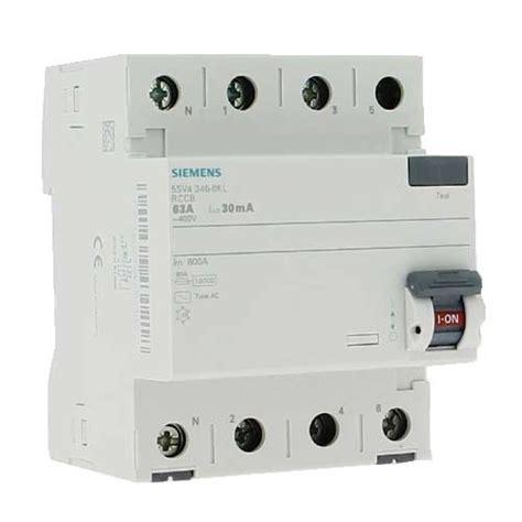 Si鑒e Balan輟ire B饕 Interrupteur Diff 233 Rentiel T 233 Trapolaire Siemens 63a 30ma
