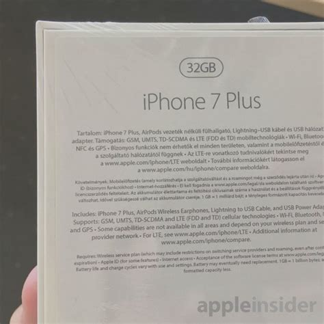 Iphone Cannot Take Photo the box leaked iphone 7 plus suggests the pr bitfeed co