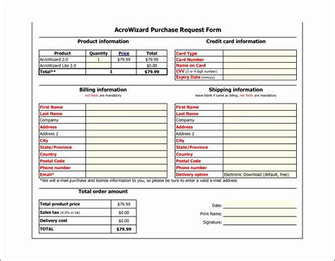 100 purchase request form template for sales order template