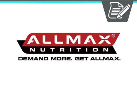 Suplemen Allmax allmax nutrition review top quality sports nutrition