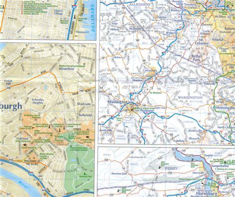 pennsylvania state pennsylvania state map 171 jimapco