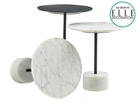 marble top side table cassina 9 marble side table by piero lissoni chaplins