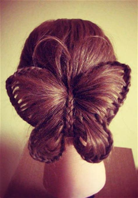 fantasy hairstyles step by step butterfly hairstyle alldaychic