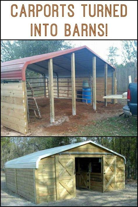 turn  carport   barn shed  building horse