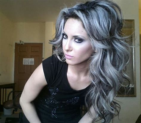 images grey and blond hair blend best highlights to blend gray hair wow com image