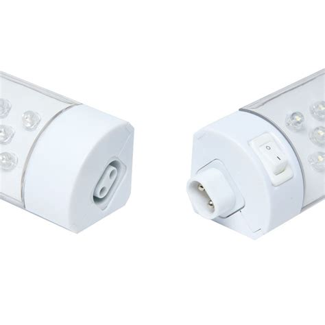 cabinet light switch albus led cabinet light with on switch