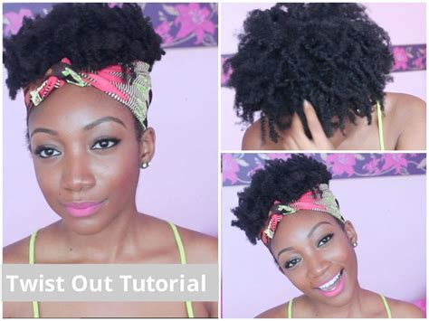 tutorial natural hair styles quot messy quot twist out tutorial 4c natural hair youtube