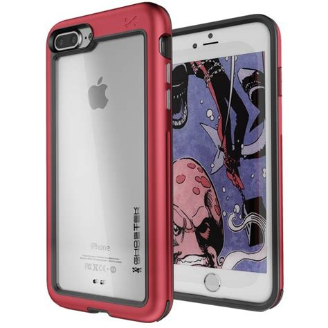 iphone 8 plus premium rugged heavy duty protective cover atomic slim series