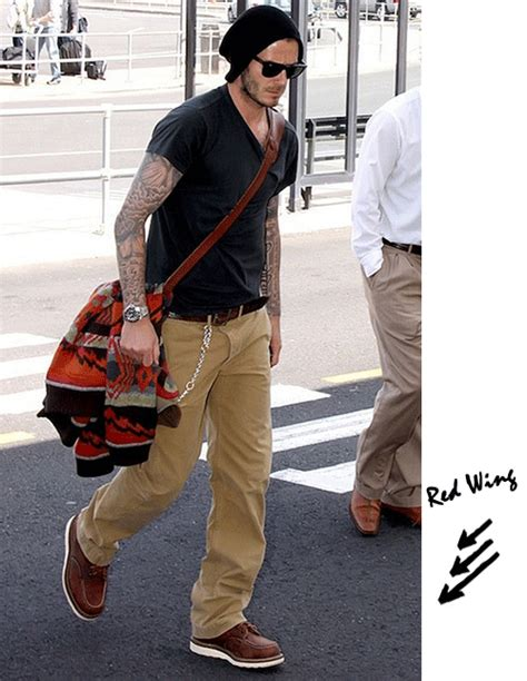 rugged mens style s style david beckham rugged in wing