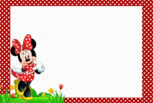 minnie mouse free templates free minnie mouse birthday invitation template
