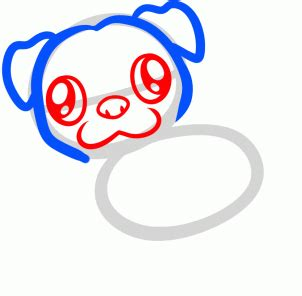 how to a pug to outside how to draw a pug for step by step animals for for free