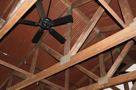 corten corrugated ceiling rustic phoenix  western