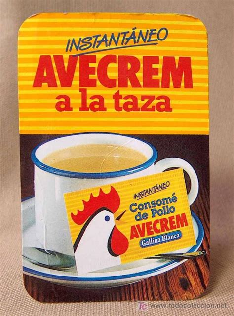 Calendario De 1985 Calendario 1985 Avecrem Gallina Blanca Comprar