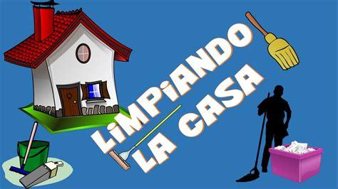 trabajar limpiando casas juegos educaci 243 n f 237 sica quot limpiando la casa quot youtube