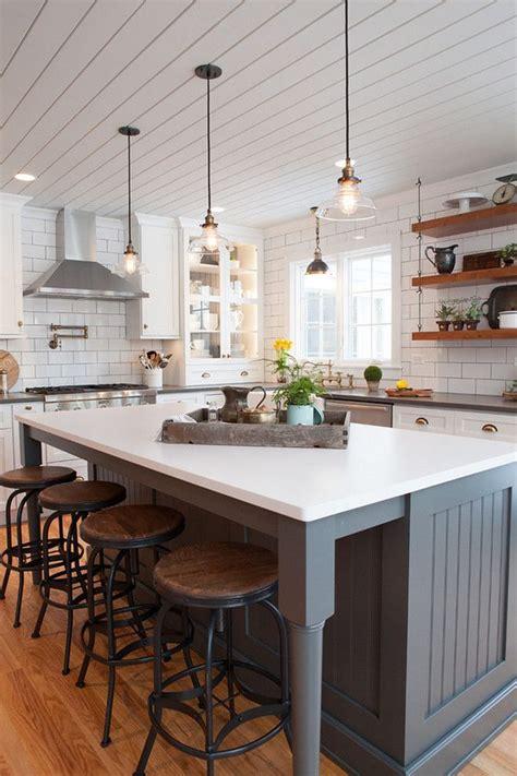 farmhouse kitchen island legs trends we open islands farmhouse kitchens plank and ceilings