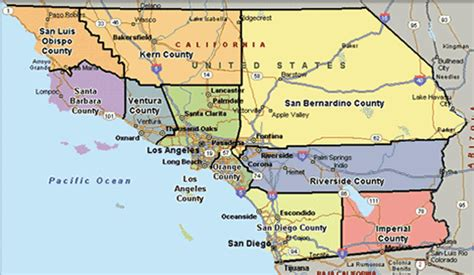 map of california counties and cities springtime of nations south california statehood