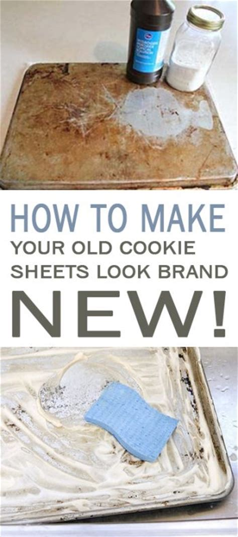 How To Make Your Brand - how to make your cookie sheets look brand new 101