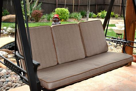 porch swing cushion replacement replacement patio swing cushions icamblog