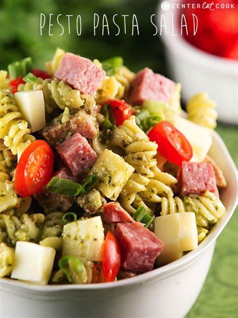 pesto pasta salad recipe pesto pasta salad recipe