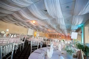 Diy Ceiling Draping by White Ceiling Draping Fabric And Dropped