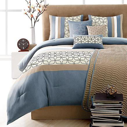 sears canada comforter sets riverbrook home bergen blue 8 piece comforter set