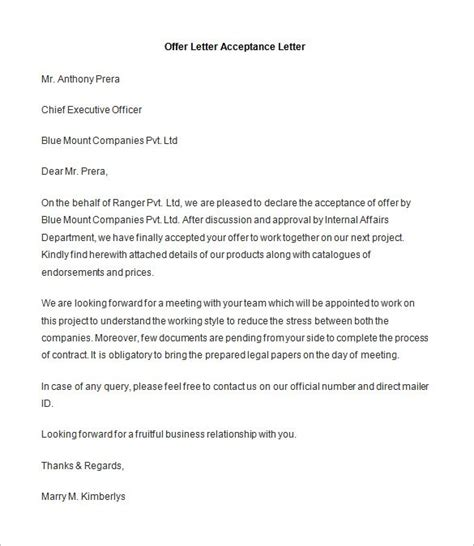 Acceptance Letter For A Uk How To Write A Acceptance Letter Uk Cover Letter Templates