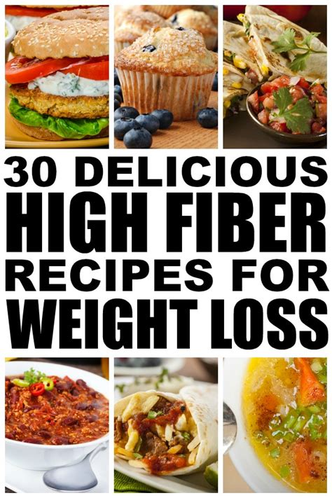 Fiber And Weight Loss by 30 High Fiber Meals For Weight Loss