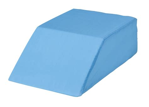 easy comforts easy comforts bed wedge leg lift cushion pillow blue