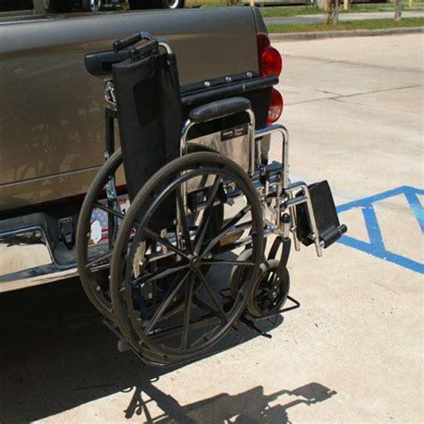 Wheelchair Rack Trailer Hitch wheelchair carrier rack hitch mount tilt and carry