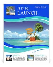 Island Brochure Template by Island Voucher Bags Flyer Template Design Id