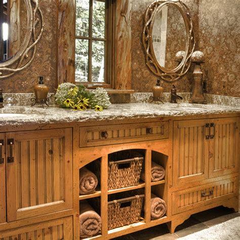 rustic bathroom decor ideas   country style interior