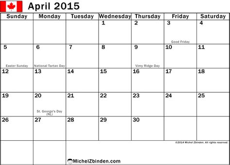 April 2015 Calendar With Holidays Seasonal Calendar 2015 Template Calendar Template 2016