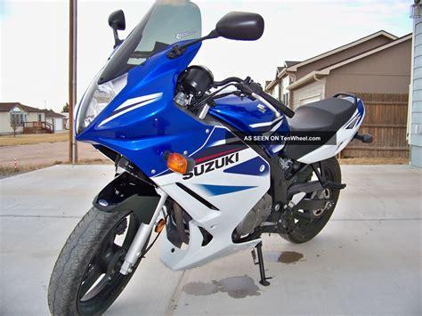 Suzuki Gs500f 2007 2007 Suzuki Gs500f