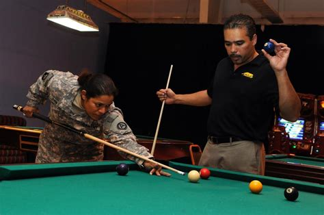 dvids news top ranked pool players visit troops in qatar